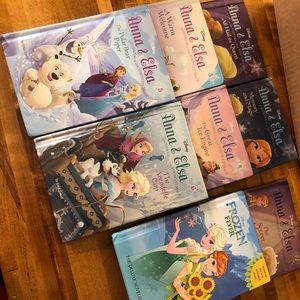 Frozen Anna and Elsa beginner chapter books